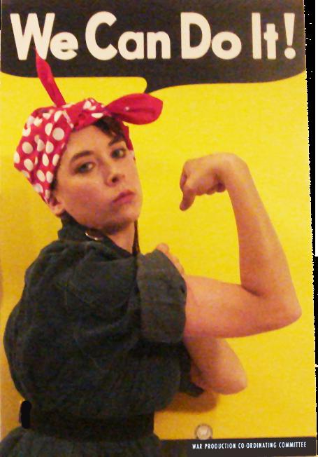 Rosie The Riveter Gear